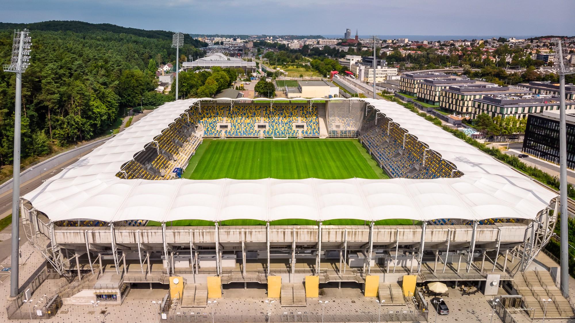 stadion gosir w gdyni30 - ŁKS on Tour! Zapisz się na wyjazd do Gdyni