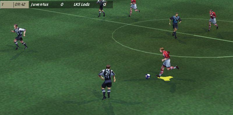 """11 fifa juve - """"Czerwone Diabły"""" za burtą! Zobacz jak wyglądał ŁKS w grze FIFA 99"""