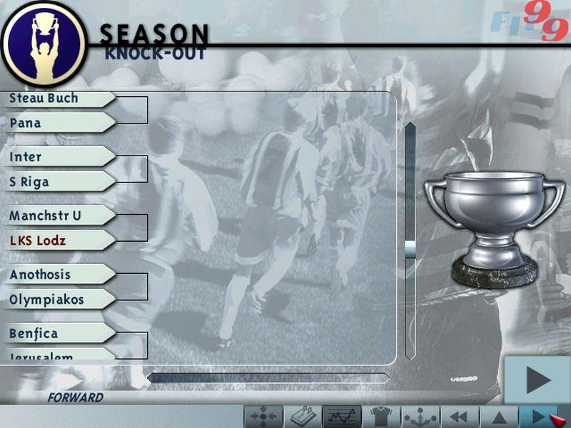 """2 fifa losowanie - """"Czerwone Diabły"""" za burtą! Zobacz jak wyglądał ŁKS w grze FIFA 99"""