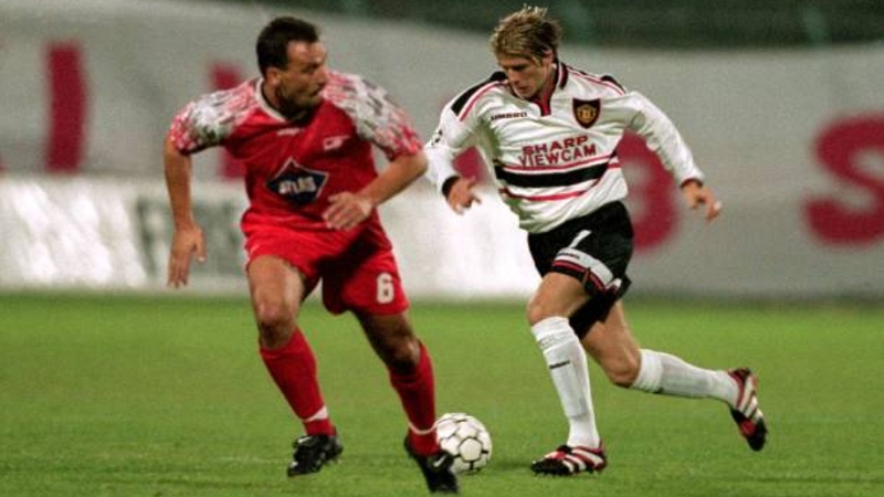 lks manchester united - Pięć legend futbolu, które zagrały na stadionie ŁKS