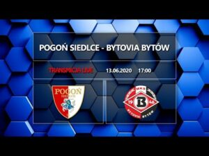 Read more about the article LIVE: Pogoń Siedlce – Bytovia Bytów