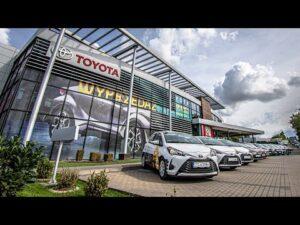 Nowe auta dla klubu od Toyota Kozłowski!