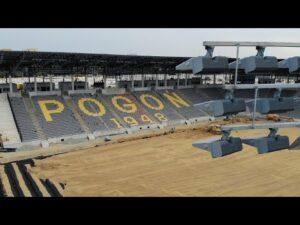 Read more about the article Budowa stadionu w Szczecinie – Rośnie trybuna wschodnia