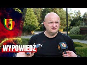 Trener Bartoszek po sparingu z ŁKS-em Łódź (08.08.2020)