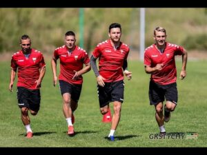 Kulisy pierwszego treningu przed startem sezonu 2020/21