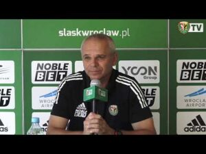 Konferencja prasowa trenera Lavički przed meczem z ŁKS-em