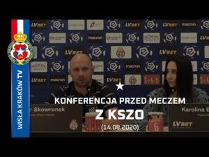 Konferencja prasowa przed meczem z KSZO Ostrowiec Świętokrzyski (14.08.2020)