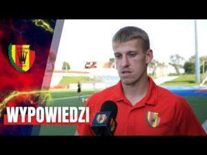 Piłkarze Korony po meczu z KKS-em Kalisz (15.08.2020)