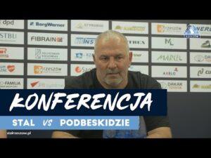 Konferencja po meczu Stal Rzeszów – Podbeskidzie Bielsko-Biała (15.08.2020)