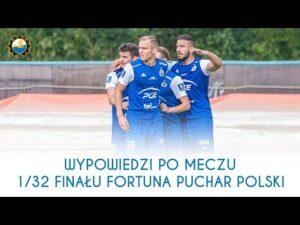 TV Stal: Wypowiedzi po meczu 1/32 finału Fortuna Puchar Polski