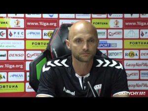1/32 Pucharu Polski: Konferencja prasowa po meczu GKS Tychy – Wisła Płock 1:2