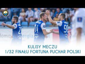 TV Stal: Kulisy meczu 1/32 finału Fortuna Puchar Polski