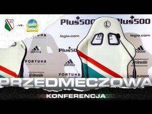 Konferencja prasowa trenera Davida Healy'ego przed meczem z Legią Warszawa