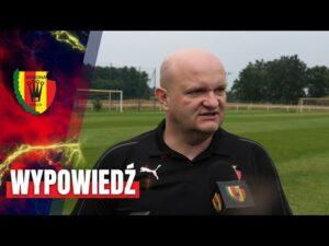 Trener Bartoszek po sparingu z Rakowem Częstochowa (03.08.2020)