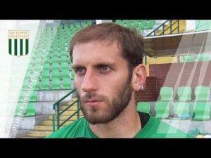 Damian Ciechanowski po wygranym 1:0 sparingu z Bałtykiem Gdynia
