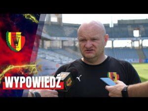 Trener Bartoszek po sparingu z Sandecją Nowy Sącz (21.08.2020)