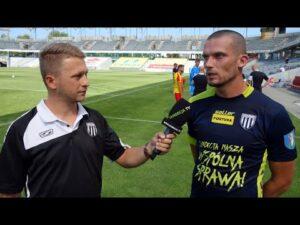 2020-08-21 Korona Kielce – Sandecja 5-0, sparing – Tomasz Boczek