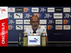 Konferencja Trenera Michała Probierza przed meczem z Pogonią Szczecin (21.08.2020)