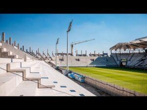 Raport z budowy stadionu ŁKS | Sierpień 2020