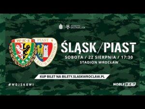 Śląsk Wrocław – Piast Gliwice (Relacja na żywo)