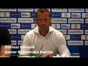 Konferencja prasowa po meczu Fortuna Pucharu Polski: Radomiak – Miedź Legnica 4:0 [RADOMIAK.TV]