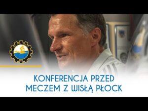 TV Stal: Konferencja prasowa przed meczem z Wisłą Płock