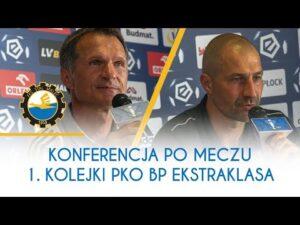 TV Stal: Konferencja po meczu 1. Kolejki PKO BP Ekstraklasa