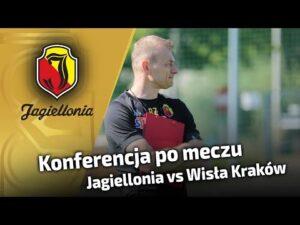 Konferencja prasowa po meczu z Wisłą Kraków