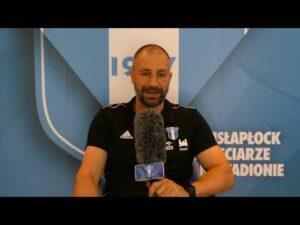 Rozmowa z trenerem Wisły Płock Radosławem Sobolewskim w związku ze startem PKO BP Ekstraklasy 20/21