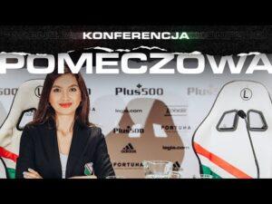 Konferencja pomeczowa trenerów Aleksandara Vukovicia i Henninga Berga