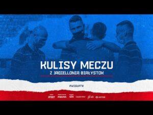 Kulisy meczu: Jagiellonia Białystok – Wisła Kraków (24.08.2020)