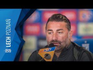 Konferencja prasowa FK VALMIERA przed meczem z LECHEM POZNAŃ