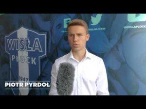 Piotr Pyrdoł piłkarzem Wisły Płock
