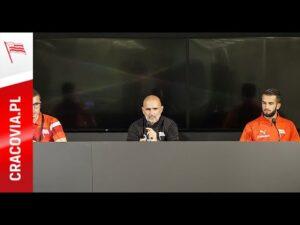 Konferencja prasowa Michała Probierza i Mateusza Wdowiaka przed meczem z Malmö FF (26.08.2020)