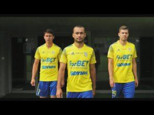 Arka Gdynia x forBet! Prezentujemy koszulki ligowe 2020/2021