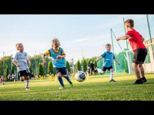 Trzeci trening w ramach naboru do Akademii ŁKS | Michał Feter
