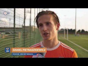 Daniel Pietraszkiewicz po wygranej Rezerw
