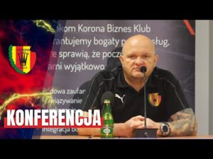 Konferencja prasowa przed meczem z Chrobrym Głogów (27.08.2020)