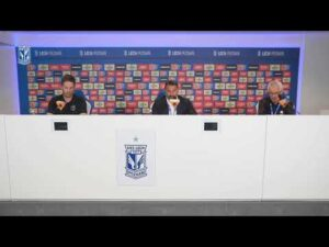 Konferencja prasowa trenera FK VALMIERA po meczu z LECHEM POZNAŃ