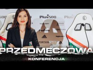 Konferencja trenera Aleksandara Vukovicia przed meczem z Jagiellonią Białystok