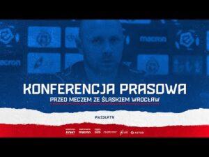 Konferencja prasowa przed meczem Wisła Kraków – Śląsk Wrocław (28.08.2020)