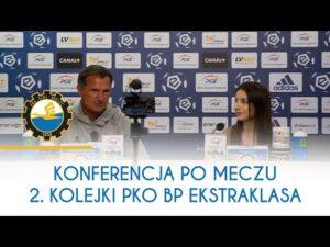 TV Stal: Konferencja prasowa po meczu 2. Kolejki PKO BP Ekstraklasa