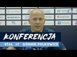 Konferencja po meczu Stal Rzeszów – Górnik Polkowice (29.08.2020)