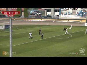 Stal Rzeszów – Górnik Polkowice 2-1 (skrót meczu)