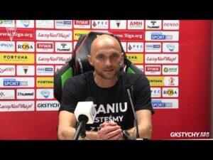1. kolejka Fortuna1Liga: Konferencja prasowa po meczu GKS Tychy – Stomil Olsztyn 0:0