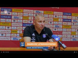 Konferencja prasowa po meczu Bruk-Bet Termalica Nieciecza – Zagłębie Sosnowiec.