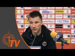 Konferencja prasowa po meczu Chrobry Głogów – Korona Kielce