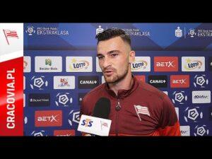 Milan Dimun po meczu z Podbeskidziem Bielsko-Biała (30.08.2020)