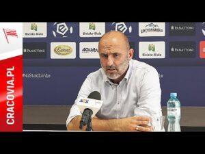 Michał Probierz po meczu z Podbeskidziem Bielsko-Biała (30.08.2020)