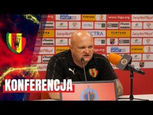 Konferencja prasowa po meczu z Chrobrym Głogów (30.08.2020)